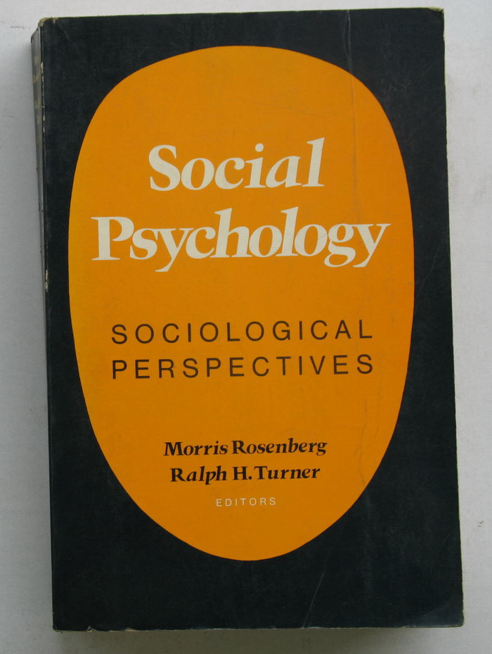 social psychology socilolgical perspectives 1981 布衣书局